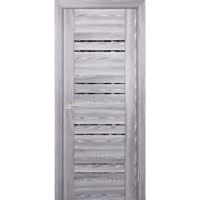Дверь Profilo Porte PSK-1 ДО Ривьера грей с тонированным зеркалом