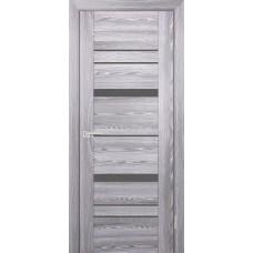 Дверь Profilo Porte PSK-2 ДО Ривьера грей со стеклом Серый Лакобель