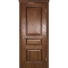 Ульяновская дверь шпонированная Текона Фрейм 03 ДГ Дуб