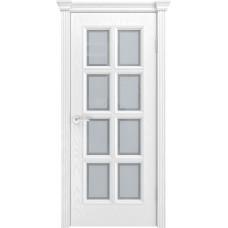 Ульяновская дверь шпонированная Текона Фрейм 09 ДО Ясень белоснежный