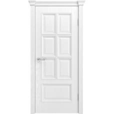 Ульяновская дверь шпонированная Текона Фрейм 10 ДГ Ясень белоснежный
