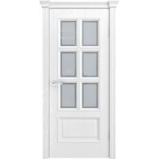 Ульяновская дверь шпонированная Текона Фрейм 10 ДО Ясень белоснежный