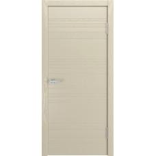 Ульяновская дверь шпонированная Текона Комбо 01 ДГ Крем