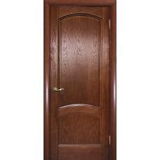 Ульяновская дверь шпонированная Текона Вайт 01 ДГ Дуб