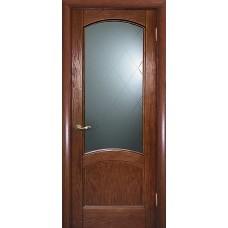 Ульяновская дверь шпонированная Текона Вайт 01 ДО Дуб