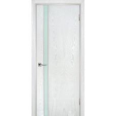 Ульяновская дверь шпонированная Текона Страто 01 ДО Ясень айсберг