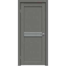 Дверь экошпон Triadoors 601 ДО Медиум Грей