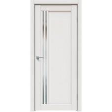Дверь экошпон Triadoors 604 ДО Белоснежный матовый