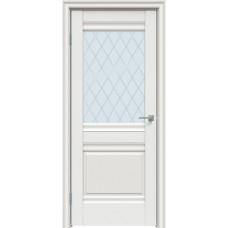 Дверь экошпон Triadoors 626 ДО 2 Белоснежный матовый