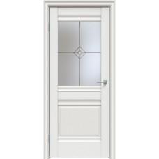 Дверь экошпон Triadoors 626 ДО Белоснежный матовый
