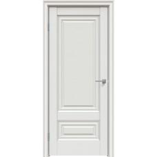 Дверь экошпон Triadoors 630 ДГ Белоснежный матовый