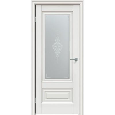 Дверь экошпон Triadoors  631 ДО Белоснежный матовый