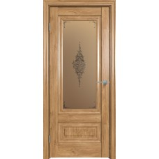 Дверь экошпон Triadoors 631 ДО Дуб винчестер светлый
