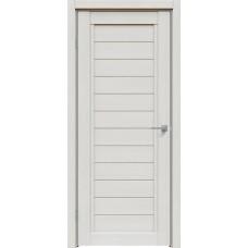 Дверь экошпон Triadoors 612 ДГ Дуб серена светло-серый