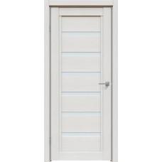 Дверь экошпон Triadoors 618 ДО Дуб серена светло-серый