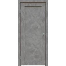 Дверь экошпон Triadoors 619 ДГ Бетон темно-серый