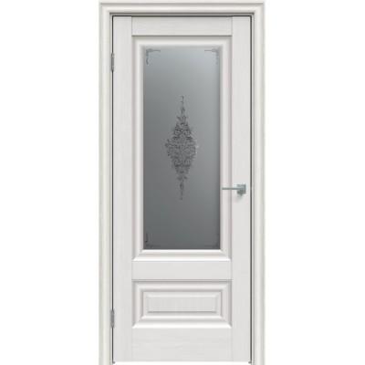 Дверь экошпон Triadoors 631 ДО Дуб серена светло-серый