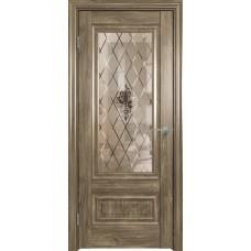 Дверь экошпон Triadoors 631 ДО 2 Дуб винчестер трюфель