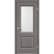 Дверь экошпон Velldoris Alto 6 ДО Ясень грей структурный со стеклом Контур