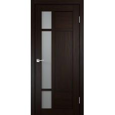 Дверь экошпон Velldoris Provance 2 Венге со стеклом Matelux