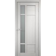 Дверь экошпон Velldoris Provance 2 Дуб белый со стеклом Matelux