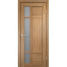 Дверь экошпон Velldoris Provance 2 Дуб золотой со стеклом Matelux