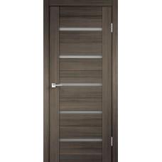 Дверь экошпон Velldoris Duplex Дуб серый со стеклом Matelux