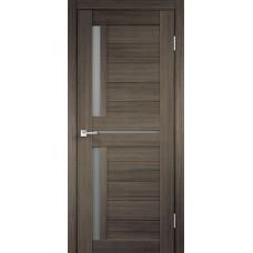 Дверь экошпон Velldoris Duplex 3 Дуб серый со стеклом Matelux