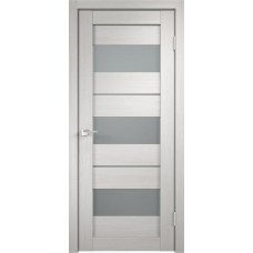 Дверь экошпон Velldoris Duplex 12 Дуб белый со стеклом Matelux