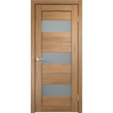 Дверь экошпон Velldoris Duplex 12 Дуб золотой со стеклом Matelux