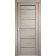 Дверь экошпон Velldoris Duplex Капучино со стеклом Matelux