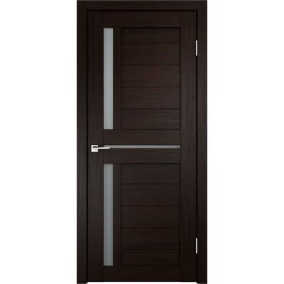 Дверь экошпон Velldoris Duplex 3 Венге со стеклом Matelux