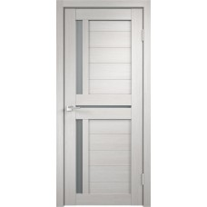 Дверь экошпон Velldoris Duplex 3 Дуб белый со стеклом Matelux