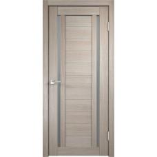 Дверь с притвором Velldoris Duplex 2 Капучино со стеклом Matelux
