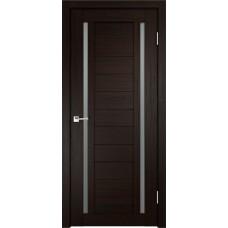 Дверь с притвором Velldoris Duplex 2 Венге со стеклом Matelux
