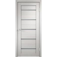 Дверь с притвором Velldoris Duplex Дуб белый со стеклом Matelux