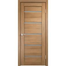 Дверь с притвором Velldoris Duplex Дуб золотой со стеклом Matelux