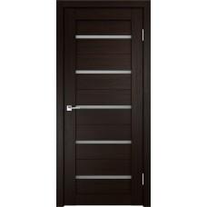 Дверь с притвором Velldoris Duplex Венге со стеклом Matelux