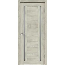 Дверь экошпон Velldoris Duplex 2 Дуб шале седой со стеклом Matelux