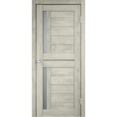 Дверь экошпон Velldoris Duplex 3 Дуб шале седой со стеклом Matelux