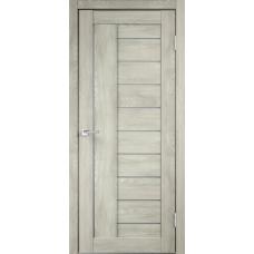 Дверь экошпон Velldoris Linea 3 Дуб шале седой со стеклом Matelux