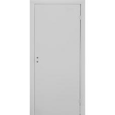 Дверь гладкая окрашенная с четвертью Velldoris Simple RAL 7040
