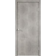 Дверь экошпон Velldoris Techno M1 Муар светло-серый с AL кромкой