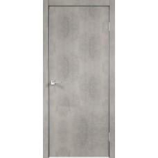 Дверь экошпон Velldoris Techno Муар светло-серый с AL кромкой