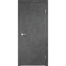 Дверь экошпон Velldoris Techno Муар темно-серый с AL кромкой