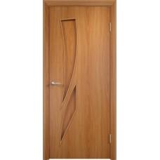 Дверь ламинированная Verda C-02 ДГ Миланский орех
