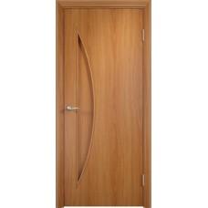 Дверь ламинированная Verda C-06 ДГ Миланский орех