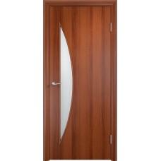 Дверь ламинированная Verda C-06 ДО Итальянский орех