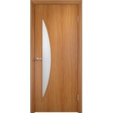 Дверь ламинированная Verda C-06 ДО Миланский орех
