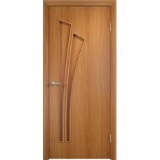 Дверь ламинированная Verda C-07 ДГ Миланский орех